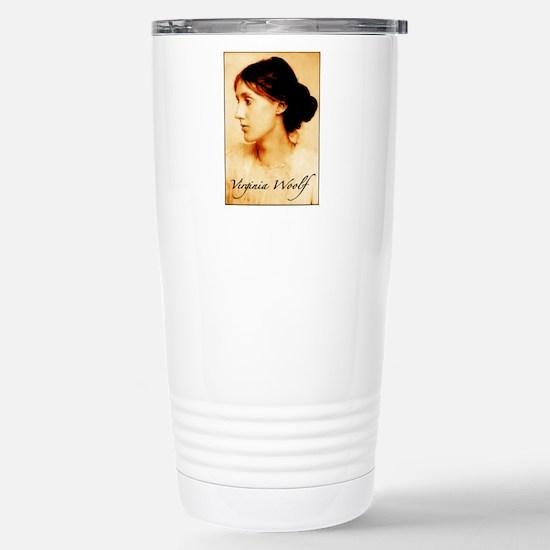 Virginia Woolf Stainless Steel Travel Mug