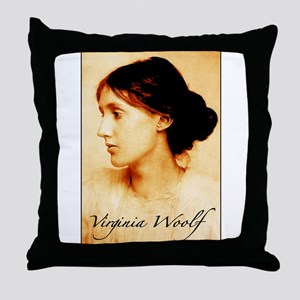 Virginia Woolf Throw Pillow