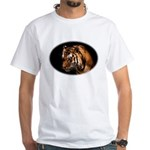 Bengal Tiger White T-Shirt