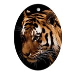 Bengal Tiger Ornament (Oval)
