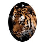 Bengal Tiger Ornament (Oval)