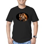 Bengal Tiger Men's Fitted T-Shirt (dark)