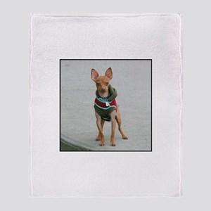 Chihuahua dog Throw Blanket