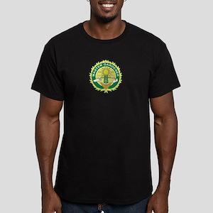 Master Gardener Seal Men's Fitted T-Shirt (dark)