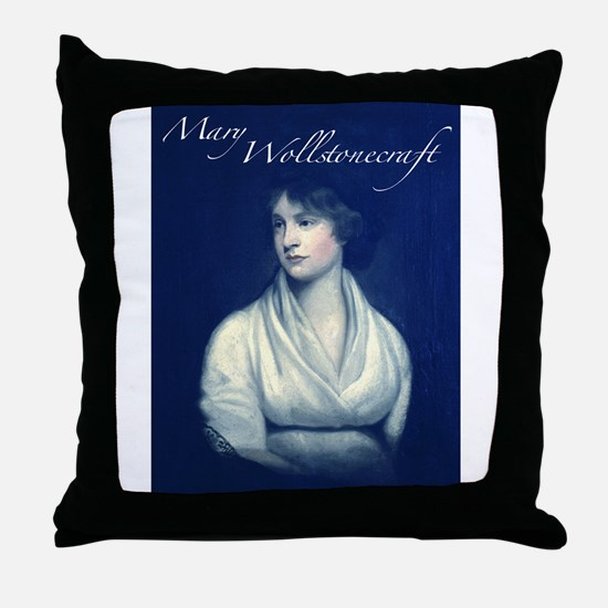 Mary Wollstonecraft Throw Pillow