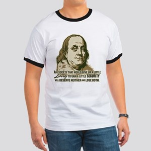 Franklin Extremist Ringer T