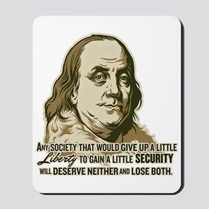 Franklin Extremist Mousepad