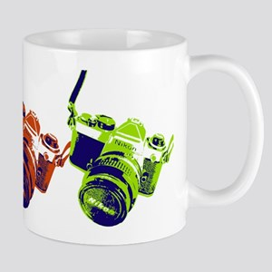 Pop Art Retro Camera Mug