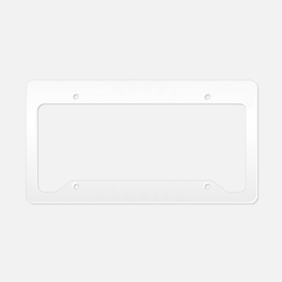 Fighting Zombies - License Plate Holder