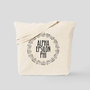 Alpha Epsilon Phi Arrows Tote Bag