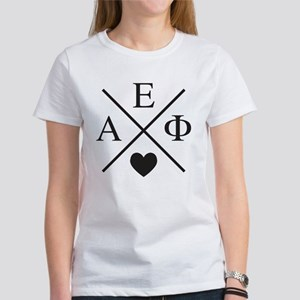 Alpha Epsilon Phi Cr Women's Classic White T-Shirt