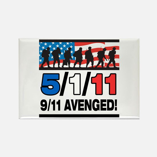 5/1/11 9/11 Avenged Rectangle Magnet