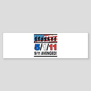 5/1/11 9/11 Avenged Sticker (Bumper)