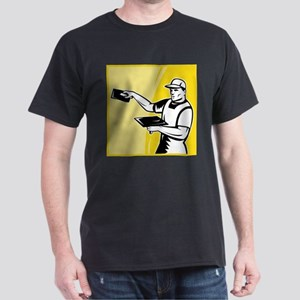 plasterer worker tradesman Dark T-Shirt