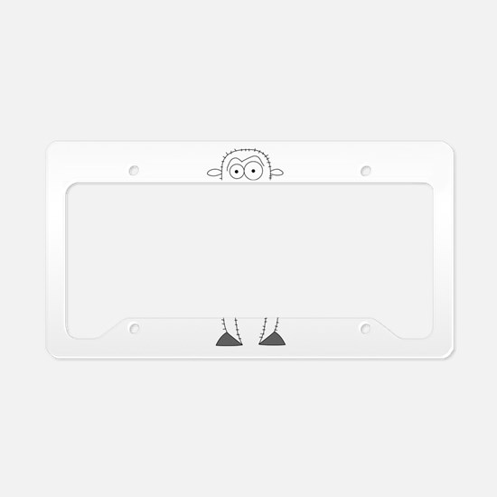 Shorn Connery License Plate Holder