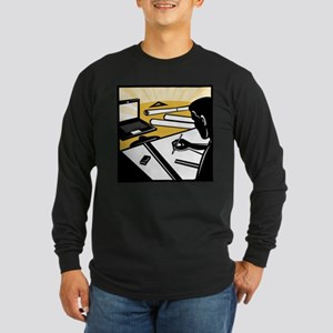 architectural draftsman Long Sleeve Dark T-Shirt