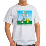 Cat Fire Hydrant Issue Light T-Shirt