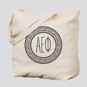 Alpha Epsilon Phi Medallion Tote Bag