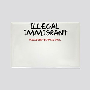 Illegal Immigrant Rectangle Magnet