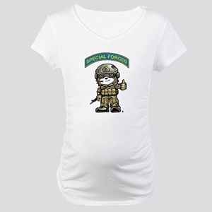 SPECIAL FORCES BEAR Multicam Maternity T-Shirt