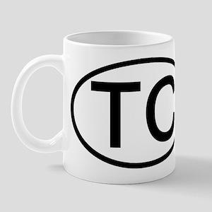TC - Initial Oval Mug