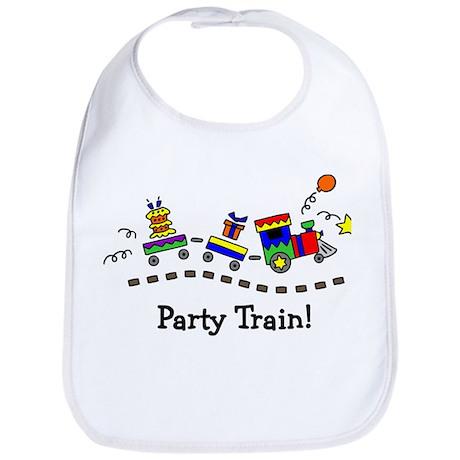 Party Train Bib