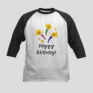 Birthday Candles Kids Baseball Jersey
