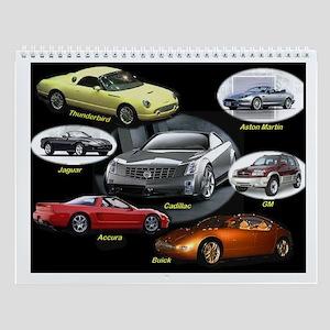 Car Shop Wall Calendar