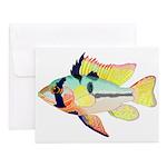 Ram Butterfly Cichlid Notecards (Set of 10)