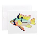 Ram Butterfly Cichlid Notecards (Set of 20)