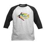 Ram Butterfly Cichlid Baseball Jersey