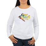 Ram Butterfly Cichlid Long Sleeve T-Shirt