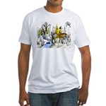 Native American Winter Warrior Fitted T-Shirt