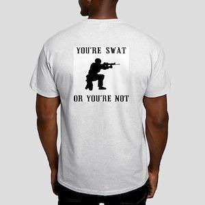 SWAT or not Ash Grey T-Shirt