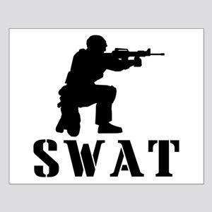 SWAT or not Small Poster
