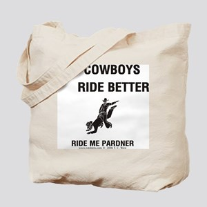 Gay Cowboys Tote Bag