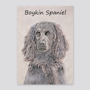 Boykin Spaniel 5'x7'Area Rug