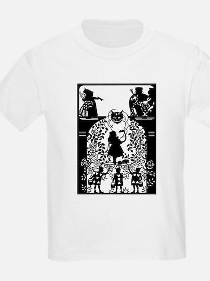 Alice in Wonderland Silhouette T-Shirt