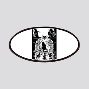 Alice in Wonderland Silhouette Patch