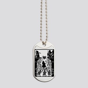 Alice in Wonderland Silhouette Dog Tags