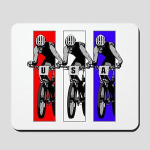 USA Biking Mousepad