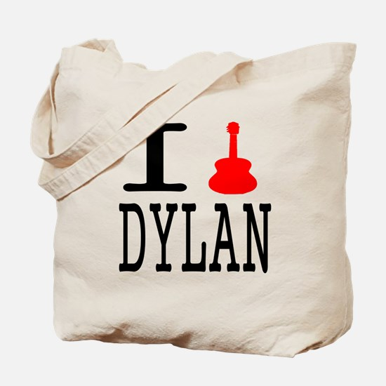 Listen To Dylan Tote Bag