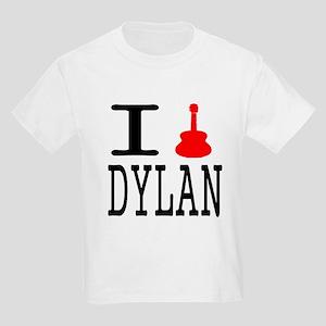 Listen To Dylan Kids Light T-Shirt