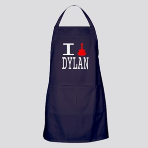 Listen To Dylan Apron (dark)