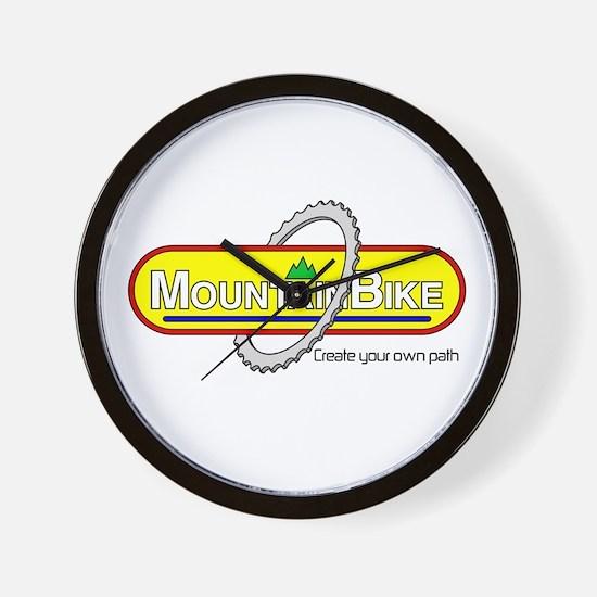 Mountain Bike-Your Path Wall Clock