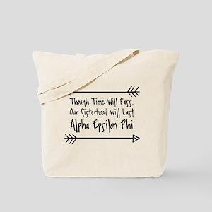 Alpha Epsilon Phi Sisterhood Tote Bag