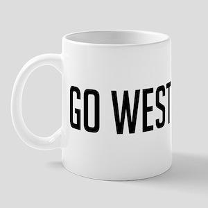 Go West Jordan! Mug
