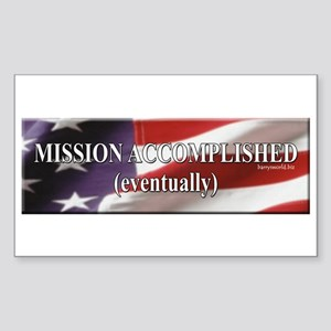 Accomplished Sticker (Rectangle 10 pk)