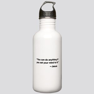 Set Your Mind Stainless Water Bottle 1.0L