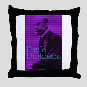 Emile Durkheim Throw Pillow
